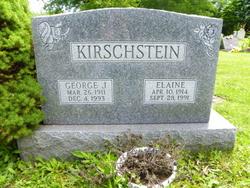 Elaine W <I>Baker</I> Kirschstein
