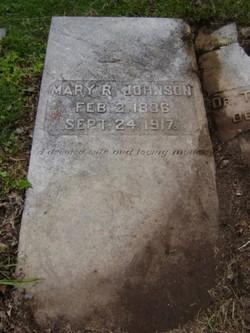 Mary Ross <I>Brasswell</I> Johnson