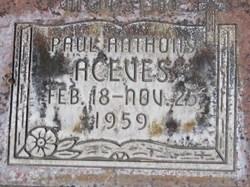 Paul Anthony Aceves