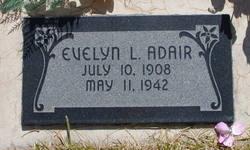 Evelyn <I>Littlefield</I> Adair