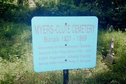 Myers-Clute Cemetery