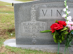 Blanchie D. Vines