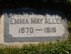 Emma May <I>Starr</I> Allen