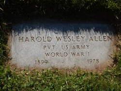 Harold Wesley Allen