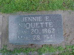 Jennie Ellen <I>Jones</I> Niquette