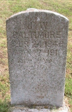 James Wesley Baltimore