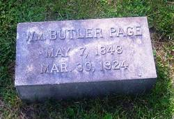 William Butler Page