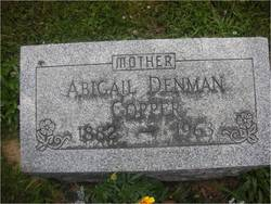 Abigail <I>Denman</I> Copper