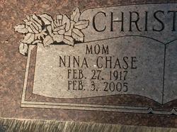 Nina Marie <I>Chase</I> Christison