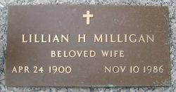 Lillian <I>Hall</I> Milligan