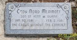 Cody Nord Memmott