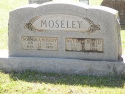 Iva E. <I>Davis</I> Moseley
