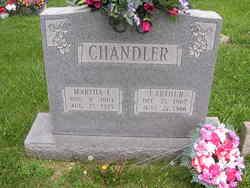 Martha Frances <I>Orme</I> Chandler