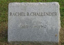 Rachel B <I>Cranmer</I> Challender