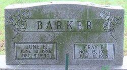 June E Barker