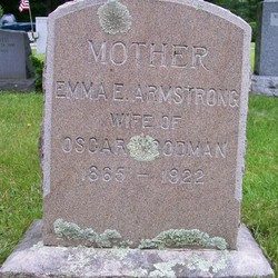 Emma E <I>Armstrong</I> Woodman