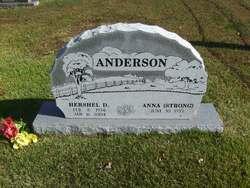 Anna Mae <I>Strong</I> Anderson
