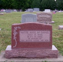 Hattie Maye Sanders Mcdaniel 1886 1966 Find A Grave