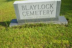 Blaylock Cemetery
