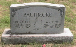 Dora Lee <I>Flether</I> Baltimore