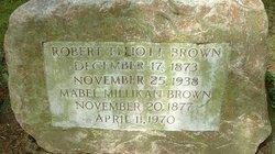 Mabel A <I>Millikan</I> Brown