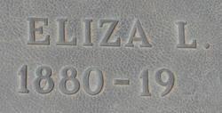 Eliza Luella <I>Stewart</I> Thompson