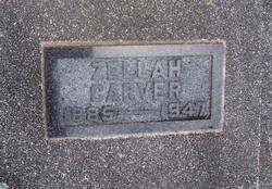Zellah <I>Wiltse</I> Carver