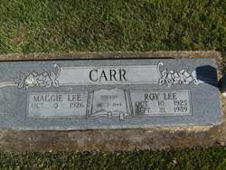 Roy Lee Carr