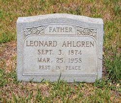 Klas Leonard Ahlgren