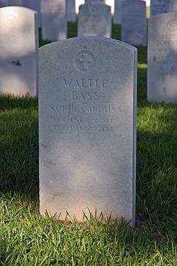 Pvt Walter Bass