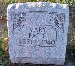 Mary <I>Harhin</I> Fasig