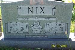 """W L """"Buddy"""" Nix"""