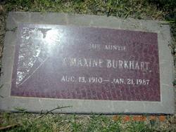 Ivy Maxine <I>Hunsaker</I> Burkhart