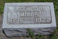 Esther P. <I>Eichelberger</I> Mills