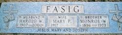 Monroe W Fasig