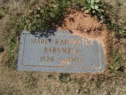 Maria <I>Rainwater</I> Barnwell
