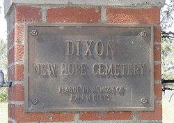 Dixon New Hope Cemetery