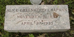 Alice Greenwood Chapman