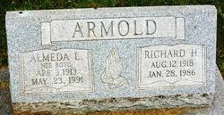 Almeda L <I>Boyd</I> Armold