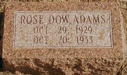 Rose Dow Adams