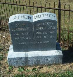 "Catharine ""Aunt Katie"" <I>Shaver</I> Burkholder"