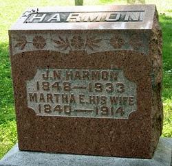 Martha E. <I>Miller</I> Harmon