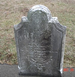 Eliza Ann <I>Thompson</I> Scull