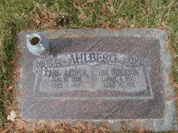 Ida <I>Johnson</I> Ahlberg