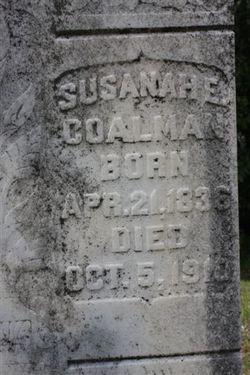 Susanah E <I>Camp</I> Coalman