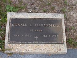Donald Ellis Alexander, Sr