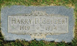Harry Donald Geiger