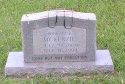 Obie Lue <I>Elder</I> McKenzie
