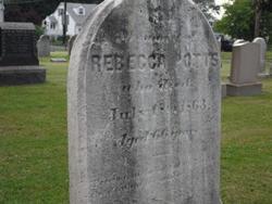 Rebecca <I>Mount</I> Potts