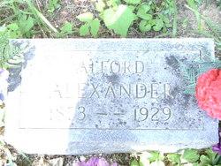 Alford Alexander